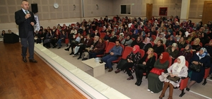 KO_MEK Aile okulu etkinlikleri Psikohekim Abdulhekim Yılmaz ile devam etti