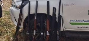 Jandarma kaçak avcılara göz açtırmıyor