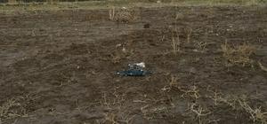 """Ağrı'da PKK'ya ait bomba yüklü """"drone"""" ele geçirildi"""