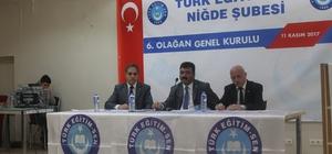 Türk Eğitim-Sen genel kurul yaptı
