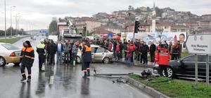 Zonguldak'ta trafik kazası: 1'i ağır 5 yaralı