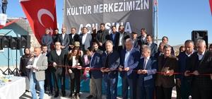Atmalı Kültür Merkezi açıldı