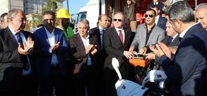 Bakan Faruk Özlü 12 derslik okulun temel atma törenini gerçekleştirdi