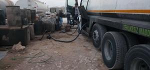 Şanlıurfa'da kaçakçılık operasyonları