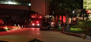 Adana'da otelde yangın