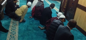 Erzurum'da ümmetin emanetleri sabah namazında buluştu