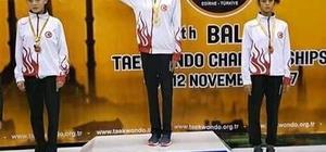 Merve Kekeç, Balkan Şampiyonu