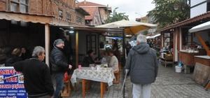 Akçakoca'daki tarihi mahalle büyük ilgi görüyor