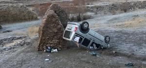 Eleşkirt'te Trafik Kazası, 2 yaralı