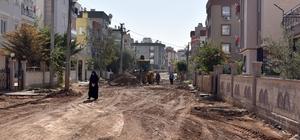 Teomanpaşa'da asfaltlama çalışmaları başladı
