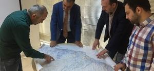 Başkan Sağıroğlu Yomra için doğalgaz projesini takip ediyor