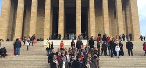 Mezitli Belediyesi, vatandaşları Anıtkabir'e götürdü