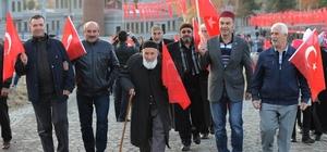 Vali Azizoğlu'ndan Tabyalar Yürüyüşü teşekkürü