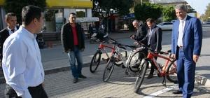 """Belediye amirlerine """"iki tekerlekli"""" makam aracı"""