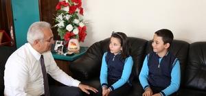 Fatih İlkokulu Öğrencilerinden Başkan Başsoy'a ziyaret