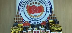 Bursa polisinden 'bitkisel gıda takviyesi' operasyonu