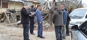 Kaymakam Emre Çitci Gökçedoğan Köyü'nü ziyaret etti