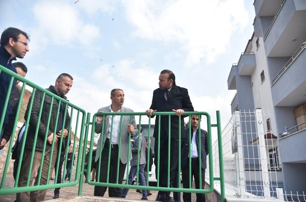 Başkan Doğan, Serdar Mahallesinde incelemelerde bulundu