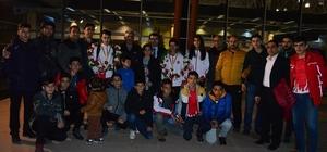 Taekwondonun Balkan Fatihlerine coşkulu karşılama