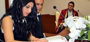 Aliağa'da 588 çift nikah masasına oturdu