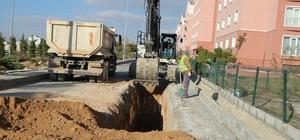 Niğde Belediyesi altyapı çalışmalarını sürdürüyor