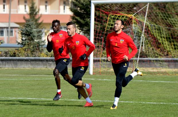 Kayserispor'da Gençlerbirliği maçı hazırlıkları