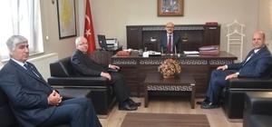 Kaymakam Bayata Başkan Albayrak'ı makamında ağırladı
