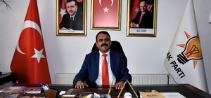 AK Parti İlçe Başkanı Bedir Yeni'den teşekkür