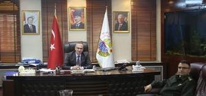 İl Jandarma Alay Komutanından Başkan Yılmazer'e ziyaret