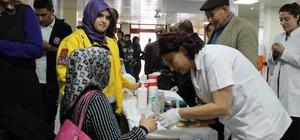 GAÜN Hastanesinde Diyabet Günü etkinlikleri