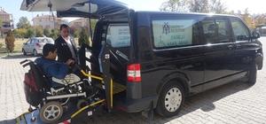 Erzincan Belediyesinden engelli ve yaşlılara servis hizmeti