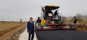 Isparta Özel İdare'den köylere sıcak asfalt