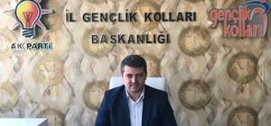 AK Parti Gençlik Kolları Başkanlığına Şahin atandı
