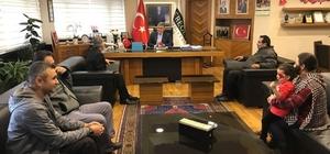 Başkan Özgüven, mahalle sakinlerini kabul etti