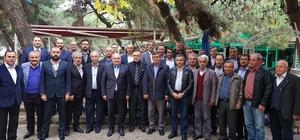 37 köy muhtarı Akmeşe'ye sorunlarını aktardı