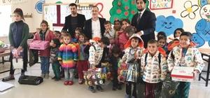 Dumlu İlköğretim Okulu öğrencilerine kışlık yardımı