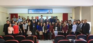 ilas'ta rehber öğretmenlere kriz yönetimi eğitimi