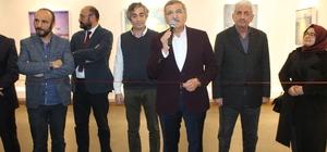 Zeytinburnu'nda 'Bakış 1' resim sergisine yoğun ilgi