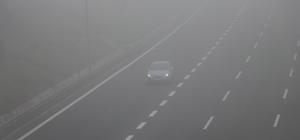 Bolu'da yoğun sis