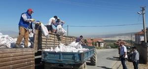 Hisarcık'ta 650 aileye kömür yardımı