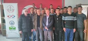 Şaphane Halk Eğitim Merkezi Müdürlüğü 2 bin 100 kişiye kurs verdi