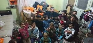 50 Türkmen çocuğun kışlık kıyafet ihtiyacı karşılandı