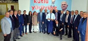 Başkan Ali Çetinbaş: Partimizin Tavşanlı teşkilatı yüzde 98 oranında yenilendi