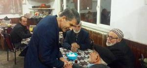 AK Parti Merkez İlçe Teşkilatı'ndan ziyaretler