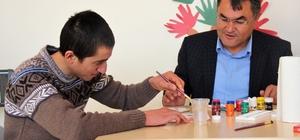 Çifteler'de zihinsel engelli gençlere özel eğitim