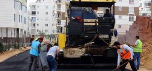 Kepez Belediyesinden Şafak Mahallesi'ne 3 bin 500 ton asfalt