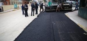 Serik'te 70 kilometre sıcak asfalt çalışması yapıldı
