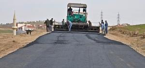 Gölbaşı ilçesinde asfalt çalışmaları