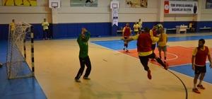7 Yamanlar Selka Eskişehir'e maçına hazırlanıyor