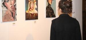 Kocaeli'de şiir tadında resim sergisi